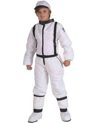 Kid's Space Explorer Astronaut  Costume Front View