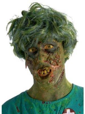 Noxious Biohazard Men's Zombie Halloween Wig