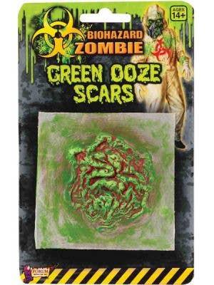 Biohazard Zombie Green Ooze Scar Special Effects - Single Pack