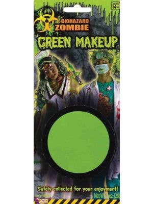 Biohazard Zombie Green Makeup