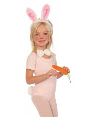 Cute Easter Bunny Girls Costume Accessory Set