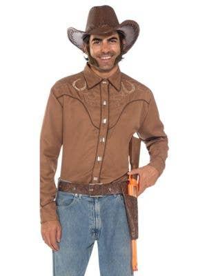 Cowboy Double Gun Holster and Badge Set | Cowboy Gun and Holster