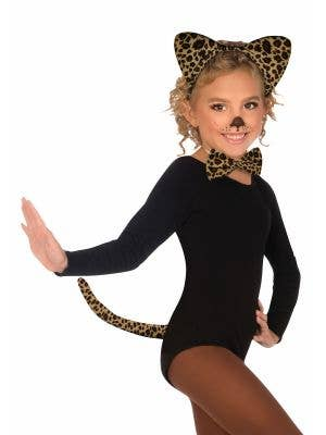 Cute Leopard Girls Costume Accessory Set