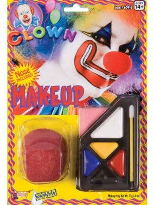 Clown Makeup Kit with Nose