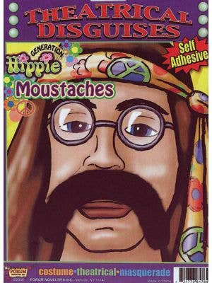 Generation Hippie Black 70's Moustache