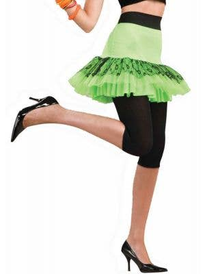Pop Party 80's Neon Green Tutu Skirt