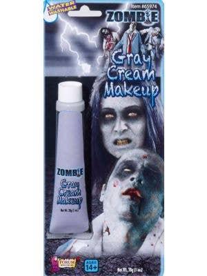 Zombie Grey Cream Makeup