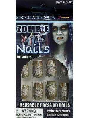 Zombie Fingernails Halloween Accessory