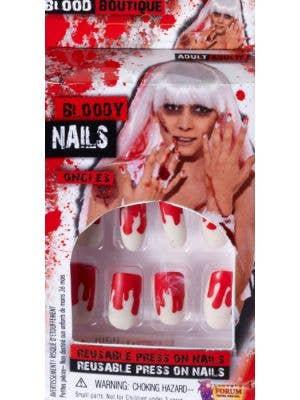 Bloody Fingernails Halloween Accessory