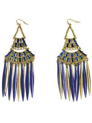 Cleopatra Deluxe Chandelier Earrings