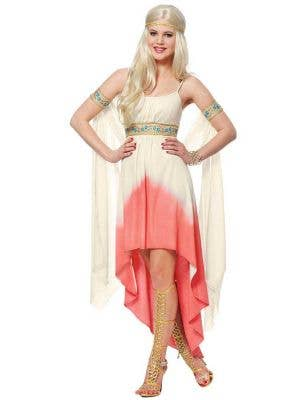 Sexy Women's Roman Goddess Fancy Dress Costume Main Image