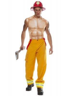 Fireman Sexy Men's Fancy Dress Costume Main Image