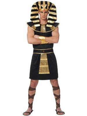Egyptian King Men's Fancy Dress Costume Front View