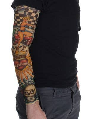 Luck and Love Adult's Novelty Tattoo Sleeve