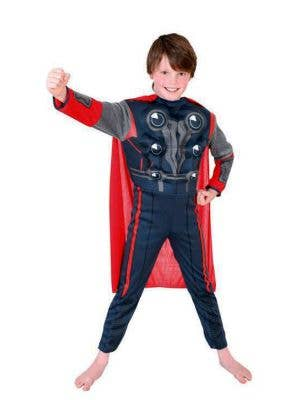 Boy's Thor Superhero Marvel Avengers Costume Front