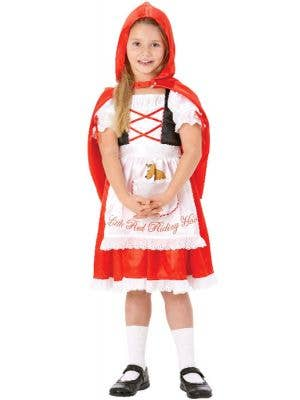 Girl's Little Red Riding Hood Costume Front View