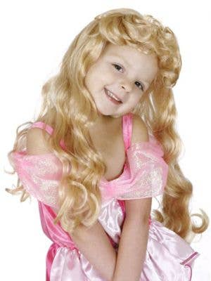 Sleeping Beauty Girls Princess Wig