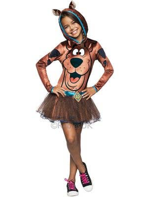 Girls Tutu Dress Scooby Doo Fancy Dress Costume