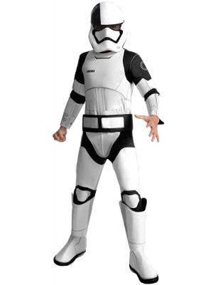 Deluxe Star Wars Stormtrooper Kids Costume Main Image