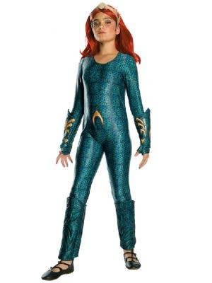 Mera Deluxe Aquaman Atlantis Queen Girl's Superhero Costume