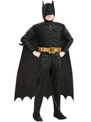 Boy's Dark Knight Batman Superhero Dress Up Front
