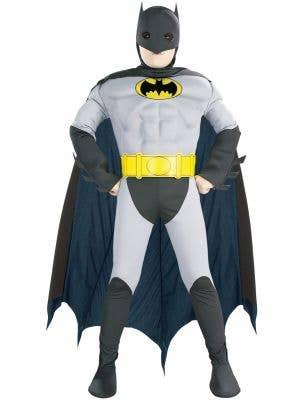 Boy's Classic Batman Superhero Book Week Costume Front