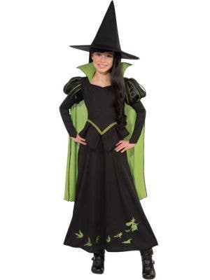 Girl's Wicked Witch Wizard of Oz Costume Front View