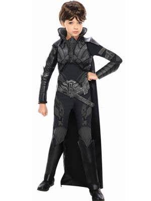 Girl's Faora Villain Costume Front View