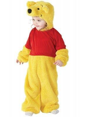 Cute Toddlers Winnie The Pooh Onesie Costume