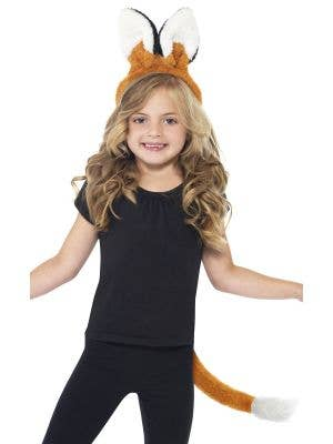 Fox Ears and Tail Children's Plush Costume Accessory