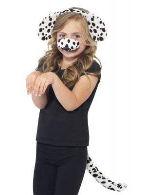 Children's 101 Dalmatian Dog Ears Costume Accessory Kit