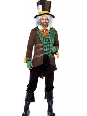 Men's Deluxe Mad Hatter Leg Avenue Costume Main