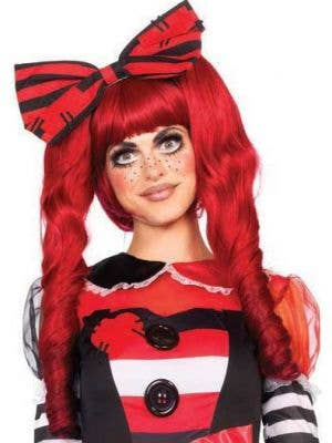 Dolly Red Deluxe Women's Ponytails Costume Wig