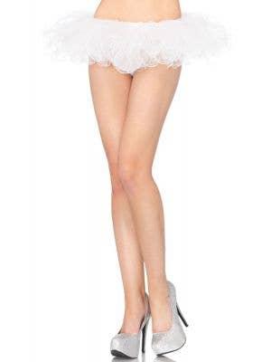 Swirl Edge Women's White Tutu Costume Accessory