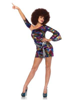 Sexy Disco Doll Women's 1970's Costume Main Image