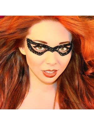 Stick on Mask - Bad Girl Stick On Body Art