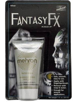 Mehron Fantasy FX Cream Costume Makeup - Silver