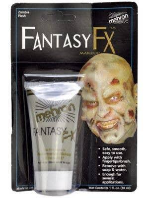 Mehron Fantasy FX Cream Costume Makeup - Zombie Flesh