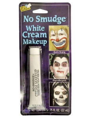 No Smudge Cream Makeup - White