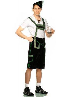 German Lederhosen Men's Oktoberfest Costume