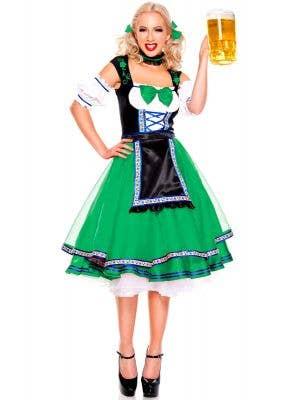 Green Oktoberfest Women's German Costume Main Image