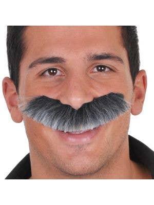 Colonel Bushy Grey Men's Moustache