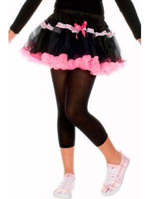 Opaque Girls Black Leggings