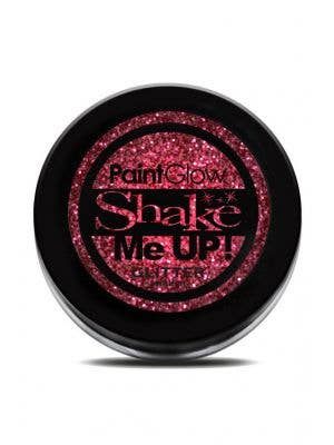 PaintGlow Red Glitter Shaker Costume Makeup