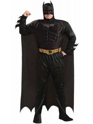 Plus Size Men's Dark Knight Batman Costume Front View