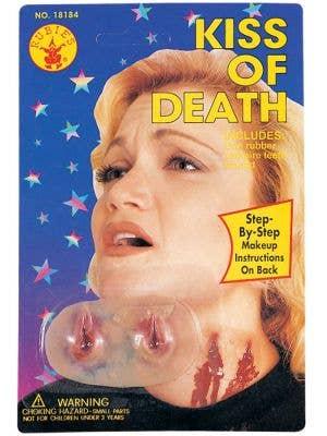 Kiss of Death Latex Vampire Bites