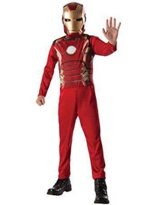 Boys Iron Man Fancy Dress Costume