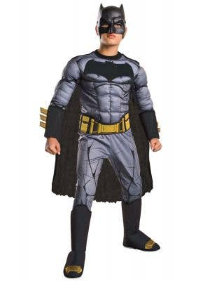 Muscle Chest Boys Batman Dawn Of Justice Costume Main Image