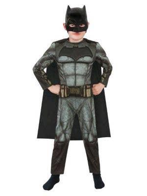 Boy's Deluxe Batman Fancy Dress Costume Main Image