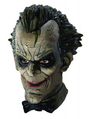 The Joker Full Head Deluxe Arkham City Latex Costume Mask